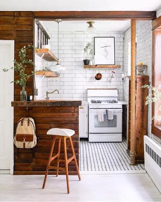 5 Ide Meja Bar Dapur Minimalis (Untuk Dapur Sempit