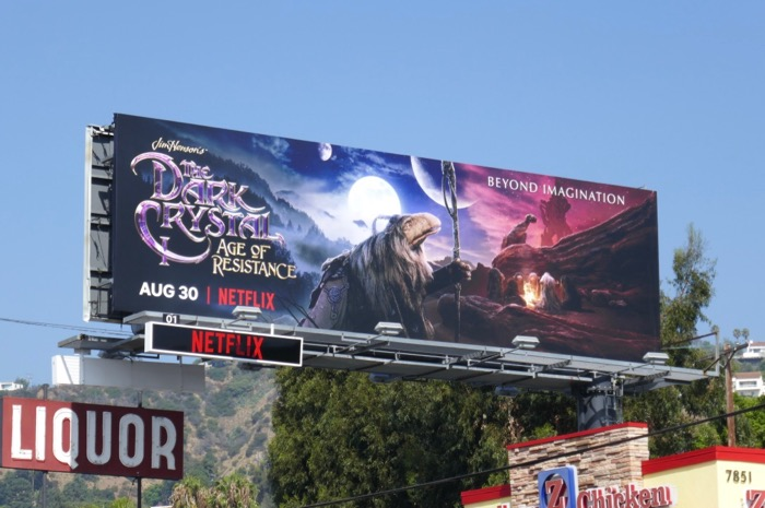 Dark Crystal Netflix series billboard