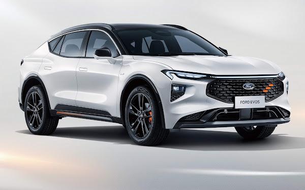 Ford Evos: sucessor do Fusion é um crossover elétrico exclusivo para China