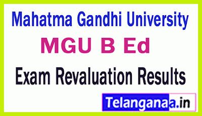 Mahatma Gandhi University B Ed Exam Revaluation Results