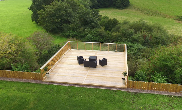 High level decking