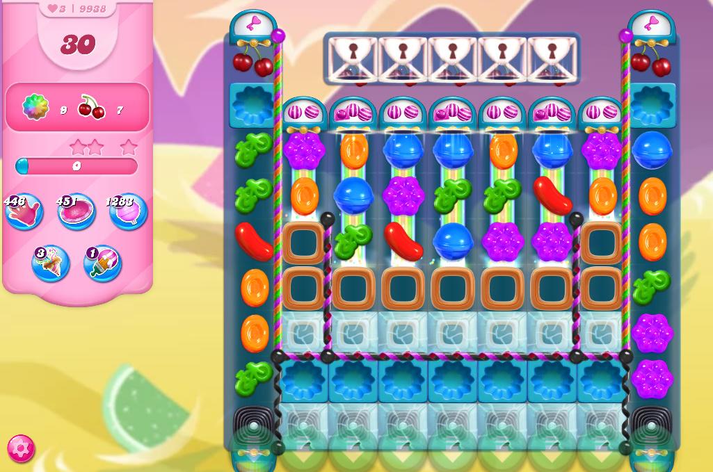 Candy Crush Saga level 9938