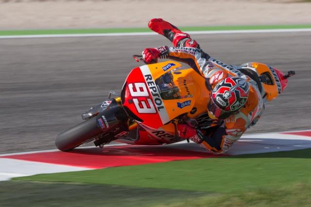 berita motogp Marquez : Jika Perasaan Baik, Saya Akan Ambil Resiko di 4 Seri Tersisa