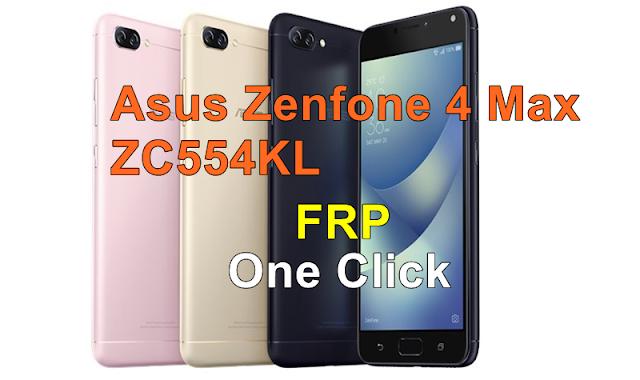 Cara Buka Akun Google/Frp Asus Zenfone 4 MAX ZC554KL Sekali Klik Muncrat