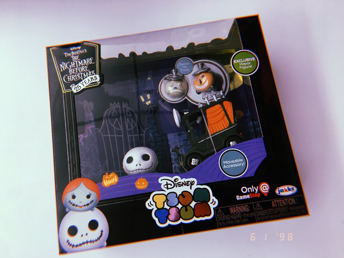Collecting Toyz Nightmare Before Christmas Tsum Box Set Tony Hawk Circuit Boards By Hexbug Power Axle Innovation First Jakks Pacific Revealed On Twitter This Cute Exclusive For Sdcc Which Is A Gamestop And Will Be Sold