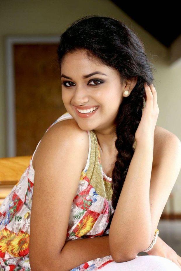 Keerthy Suresh cute smile