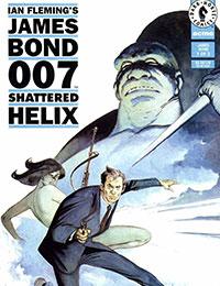James Bond 007: Shattered Helix Comic