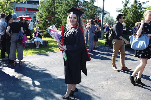 Arnisa Morina keeps the promise to her fallen father: has been graduated as a lawyer in Canada