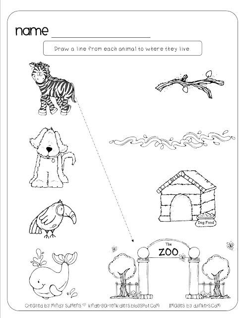 kindergarten kidlets animal homes. Black Bedroom Furniture Sets. Home Design Ideas