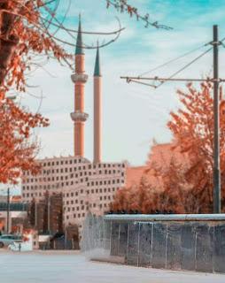 Cool Background City Soft Tone Free Stock Photo