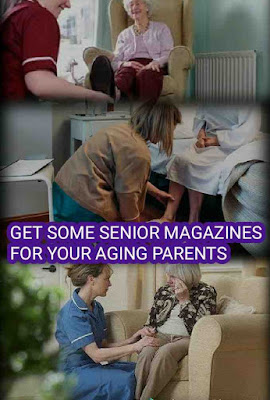 Senior Living  Magazines, Aging Parents
