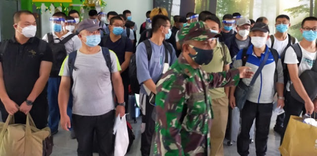 Gunakan Trik Lama, Puluhan TKA Asal China Masuk Aceh Tanpa Miliki Izin Kerja
