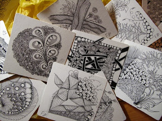 Learn drawing Zentangle in Hong Kong