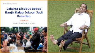Iwan Sumule: Janji Jokowi Atasi Banjir Jakarta jika Jadi Presiden, 100 Persen <i>Bullshit!</i>