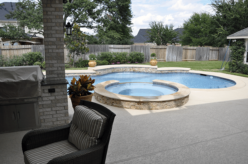 Custom Outdoor Patio Construction DFW 22