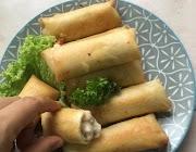 Resipi Popia Carbonara simple dan confirm sedap!
