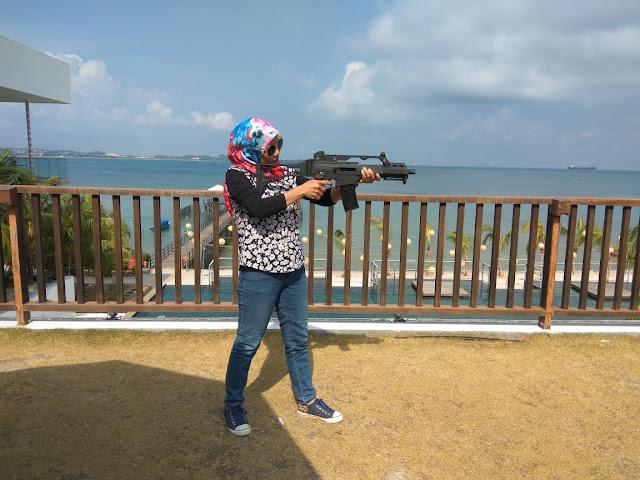 Airsoft Gun dari Montigo Resort