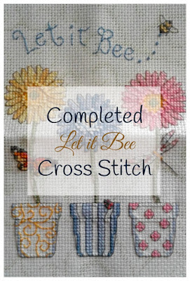 Let it Bee Cross Stitch