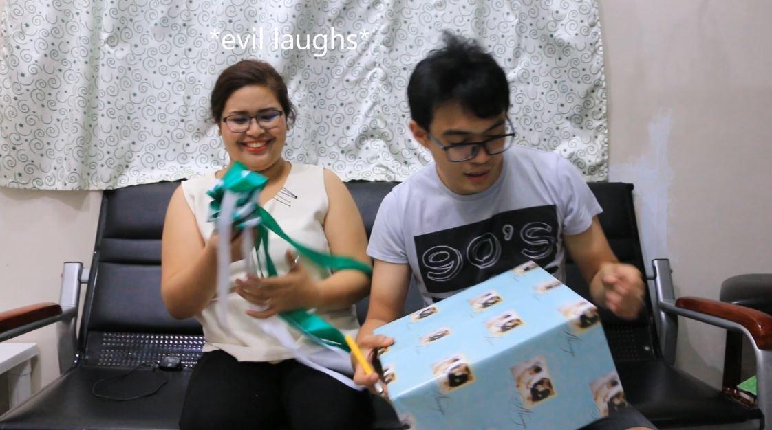 mau licks life wedding gift opening by mac mau