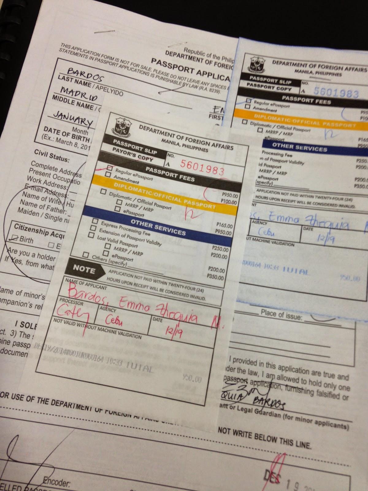 FTW! Blog, DFA, Pacific Mall, Mandaue, DFA Cebu, How to get a passport