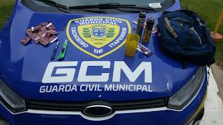 Marginal usa estilete para assaltar farmácia em Cachoeiro de Itapemirim (ES) e acaba preso pela GCM