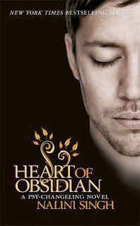 Book Cover Heart of Obsidian