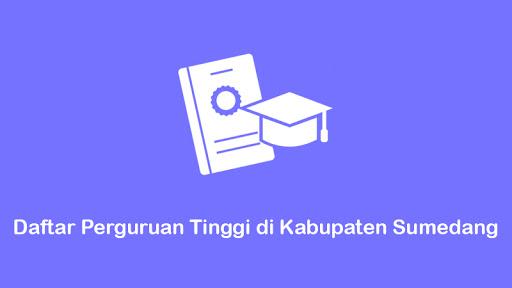 daftar perguruan tinggi di kabupaten sumedang