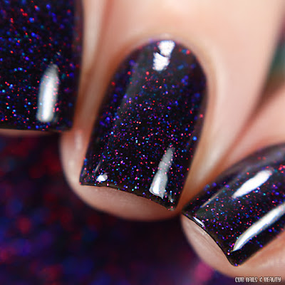Garden Path Lacquers-Glitter On the Wet Streets