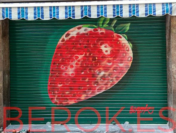 Graffiti fresa fruteria