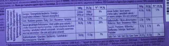 IMG 2956 - Snack Time! Milka Peanut Caramel