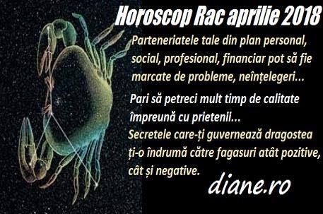 Horoscop aprilie 2018 Rac