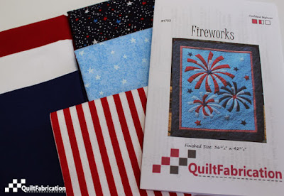 Fireworks pattern and kit by QuiltFabrication