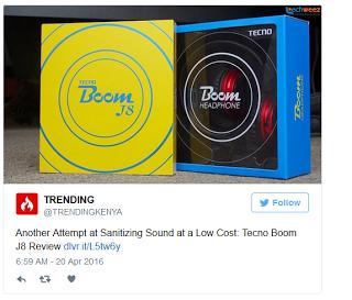 tecno boom j8 package