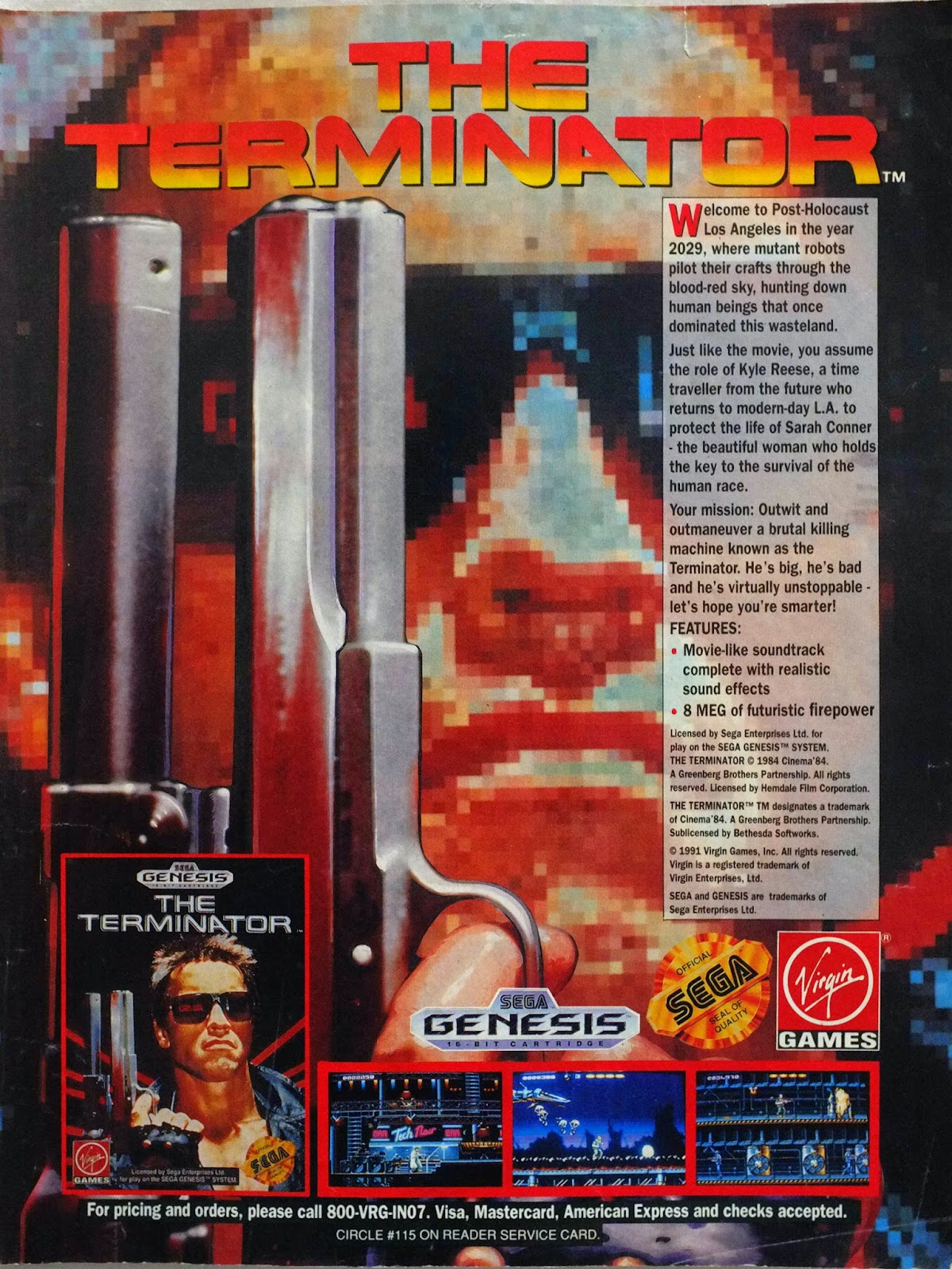 The Terminator for Genesis advertisement