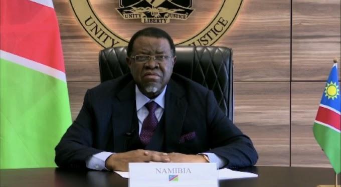 رئيس ناميبيا : أهداف الأمم المتحدة في التنمية المستدامة تظل جوفاء ما دام الشعبان الصحراوي والفلسطيني تحت الإحتلال.