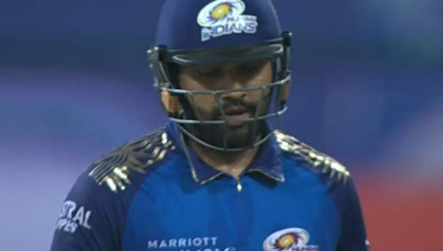 MI vs KKR IPL 2020- Rohit Sharma Breaking News