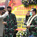 Kasrem dan Kapolresta Malang Potong Kue