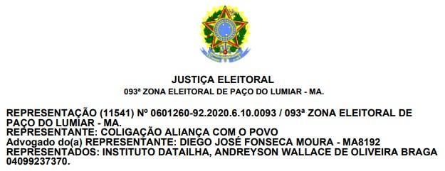 BOMBA!! Justiça Eleitoral detecta indício de fraude e suspende pesquisa eleitoral na Raposa