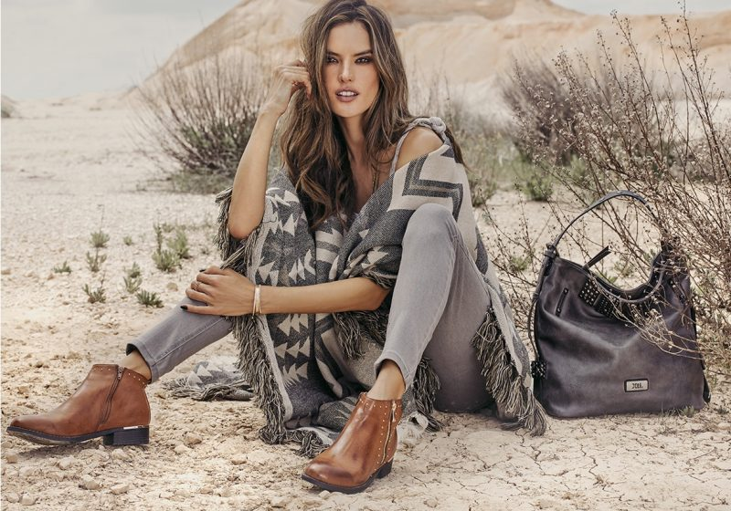 Alessandra Ambrosio fronts XTI Shoes fall-winter 2018 campaign