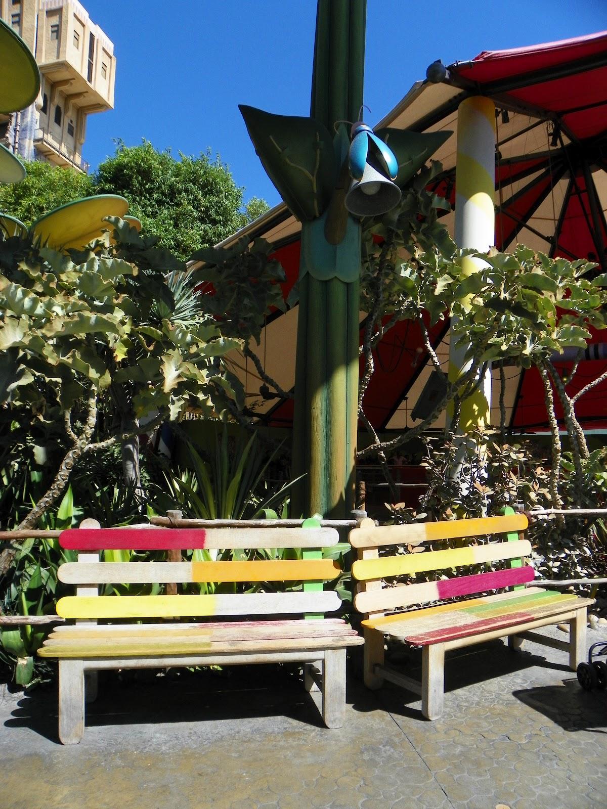 Pixie Pranks And Disney Fun Benches At Disneyland Resort