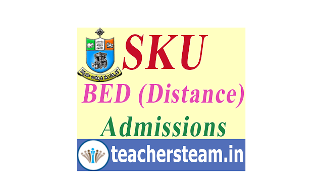 SKU BEd (Distance Mode) Admission Notification