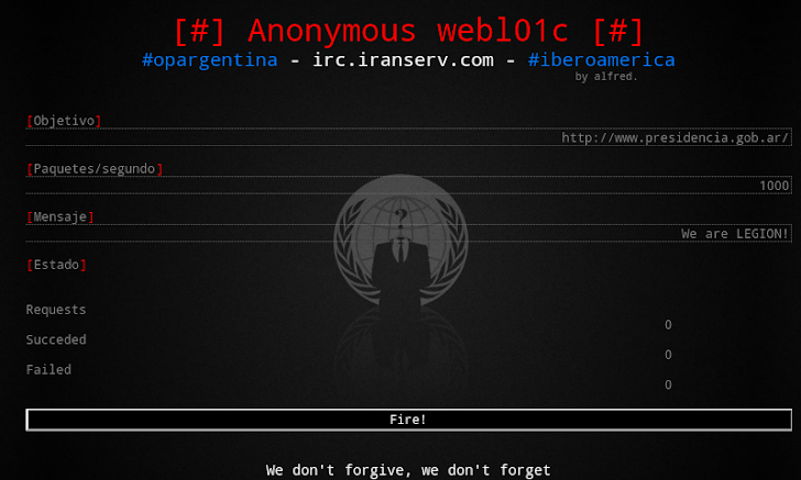 Anonymous Hackers Develop WebLOIC DDOS Tool for Android Mobiles