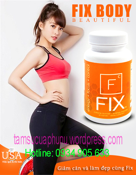 Giảm cân fix + iblue có thật sự hiệu quả và an toàn cho sức khỏe?