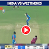 Watch Live : India vs West Indies, 1st T20I: India need 208 runs to win.