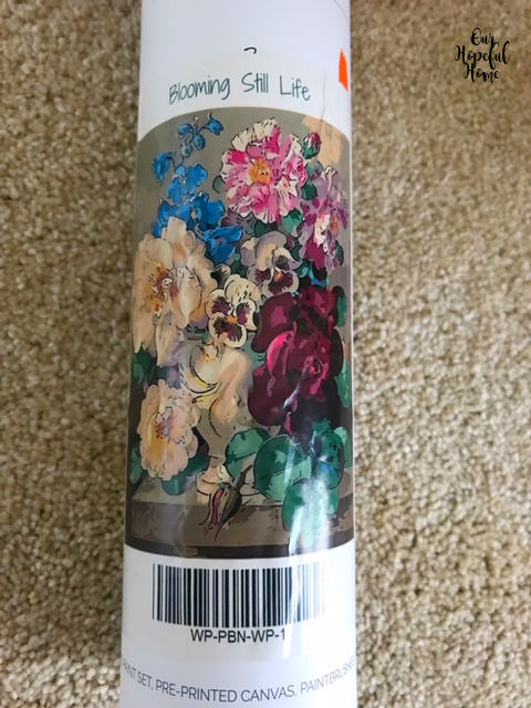 Blooming Still Life floral paint by number