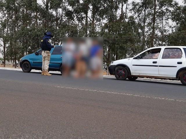 Fim de semana de flagrantes de imprudências em rodovias do Sudoeste Goiano