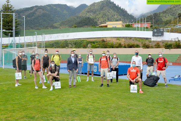 La Palma continúa posicionándose como destino idóneo para la práctica deportiva