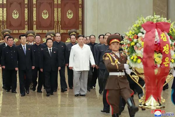 Kim Jong Un at Kumsusan Palace of Sun, October 10, 2019