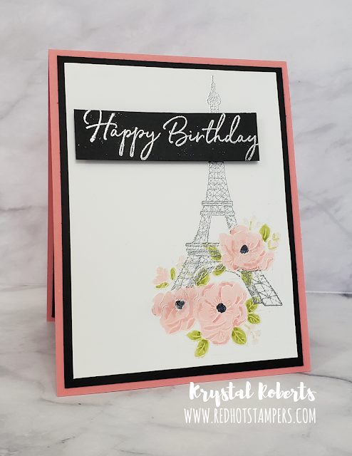 Stampin' Up! | Parisian Beauty | Happy Birthday To You