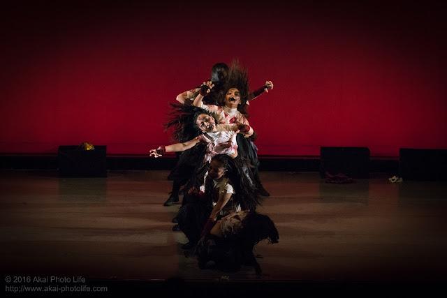 キッズダンサーによるゾンビダンス